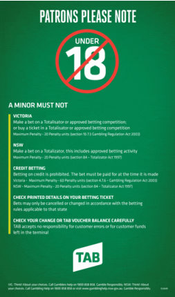 Dont Gamble On Vouchers >> Tabcorp Wagering Responsible Gambling Code Of Conduct